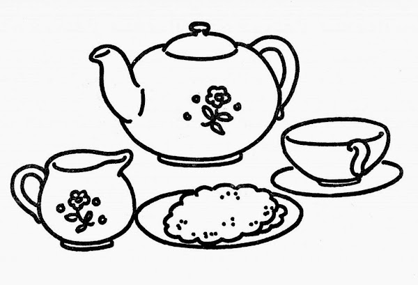 Alice In Wonderland Flowers Coloring Pages