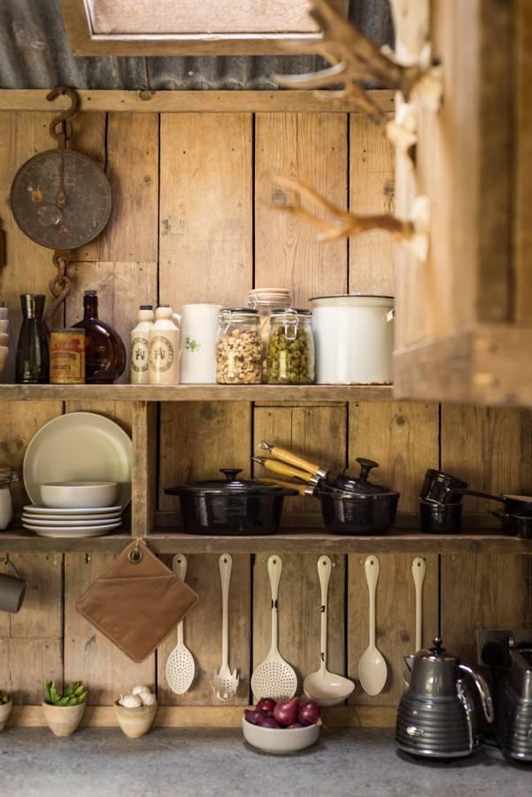 Places una caba a r stica de lujo virlova style - Fotos de salones rusticos ...