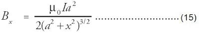 substitusikan persamaan induksi magnet