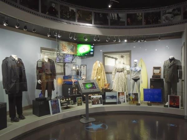 NBC Universal Experience costume prop exhibit
