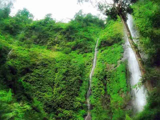 The Beauty of Waterfall Tretes, Fantastic Panorama