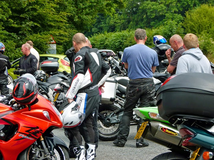 Bikers, Devil's Bridge, Kirkby Lonsdale, Cumbria