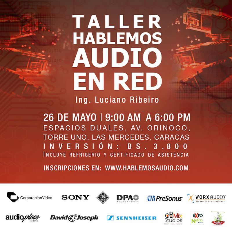 Taller Hablemos Audio en Red