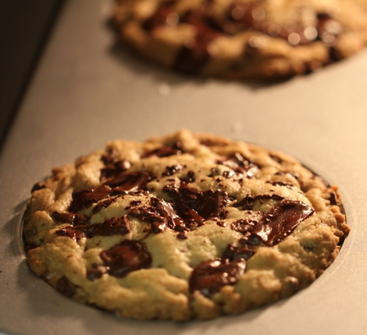 Salted Caramel Chocolate Chunk Cookies Recipe — Dishmaps