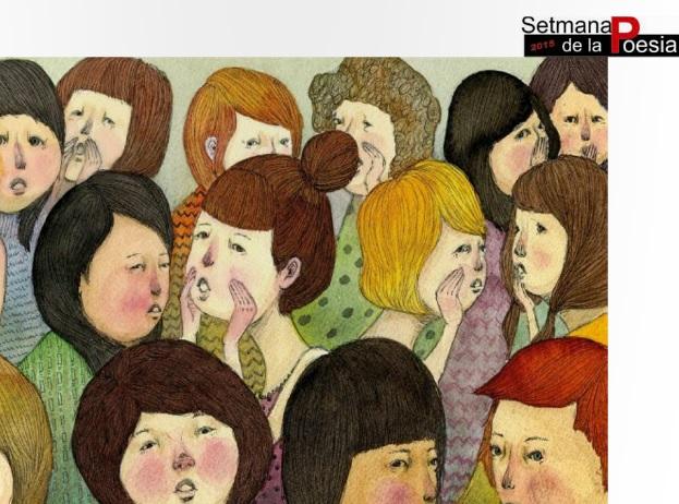 Set de poesia catalana. Una antologia. Setmana de la poesia