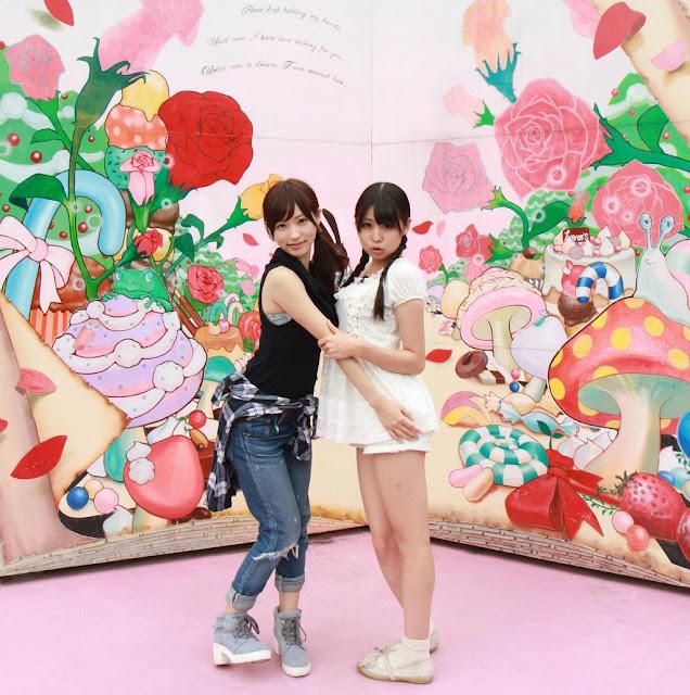 Amatsuka Moe 天使もえ, Sakura Yura さくらゆら Twitter Photos 09