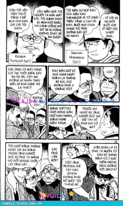 Detective Conan - Thám Tử Lừng Danh Conan chap 569 page 3 - IZTruyenTranh.com