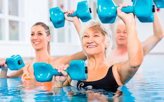 Tenha Exercícios de Hidroterapia