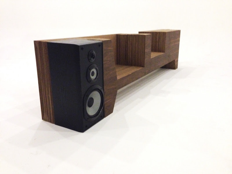Custom Record Player Console