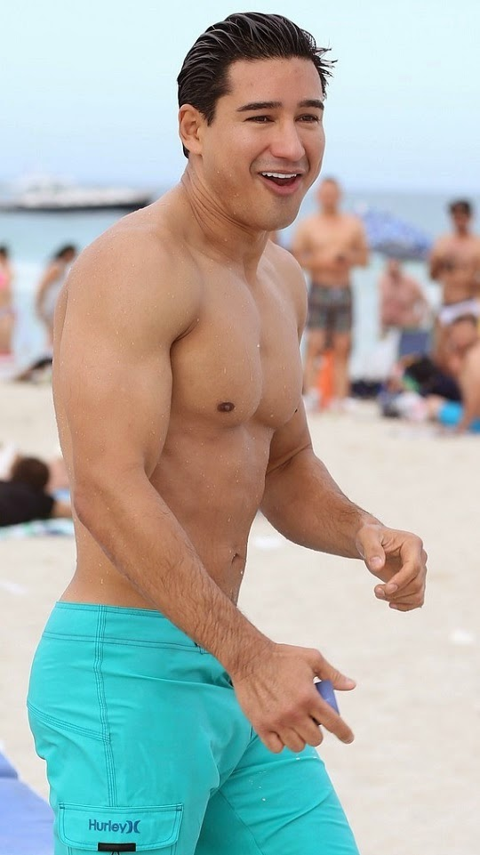Beach naked mario lopez