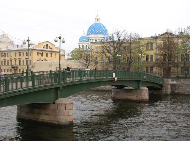 Красноармейский пешеходный мост через Фонтанку, Санкт-Петербург