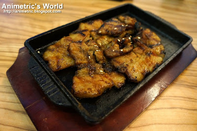 Grilled Pork Belly Strips at Yoogane