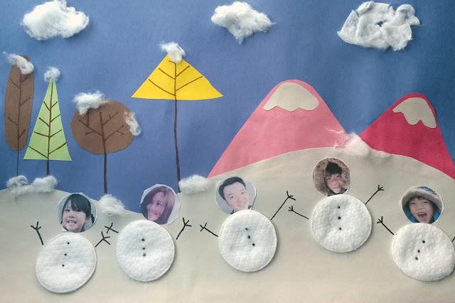 snowman family tree