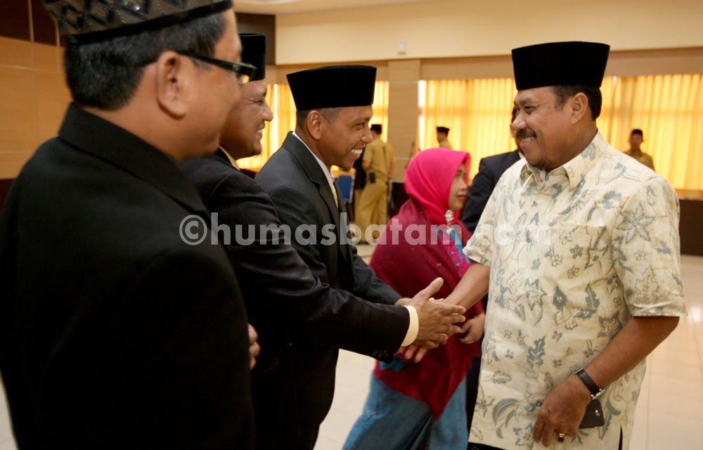 Pelantikan Pimpinan Baznas Batam 4/8/2015