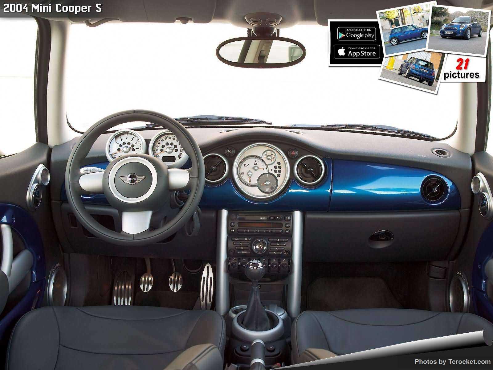 Hình ảnh xe ô tô Mini Cooper S 2004 & nội ngoại thất