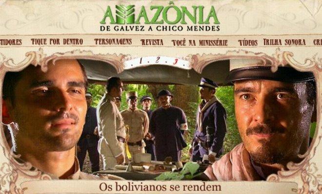 Minissérie AMAZONIA