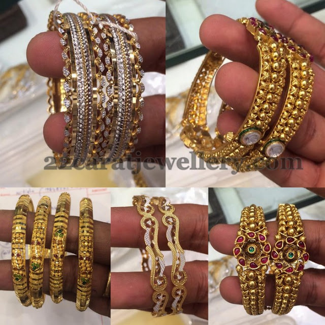 Antique CZ Bangles Gallery