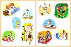 Kegiatan sehari-hari in English