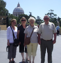 In front of St. Peter&#39;s Basilica