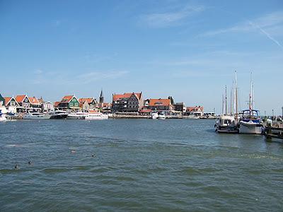Puerto de Volendam, Holanda, Agosto 2011