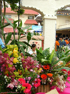 Flowers at Brickfields Maha Vihara KL