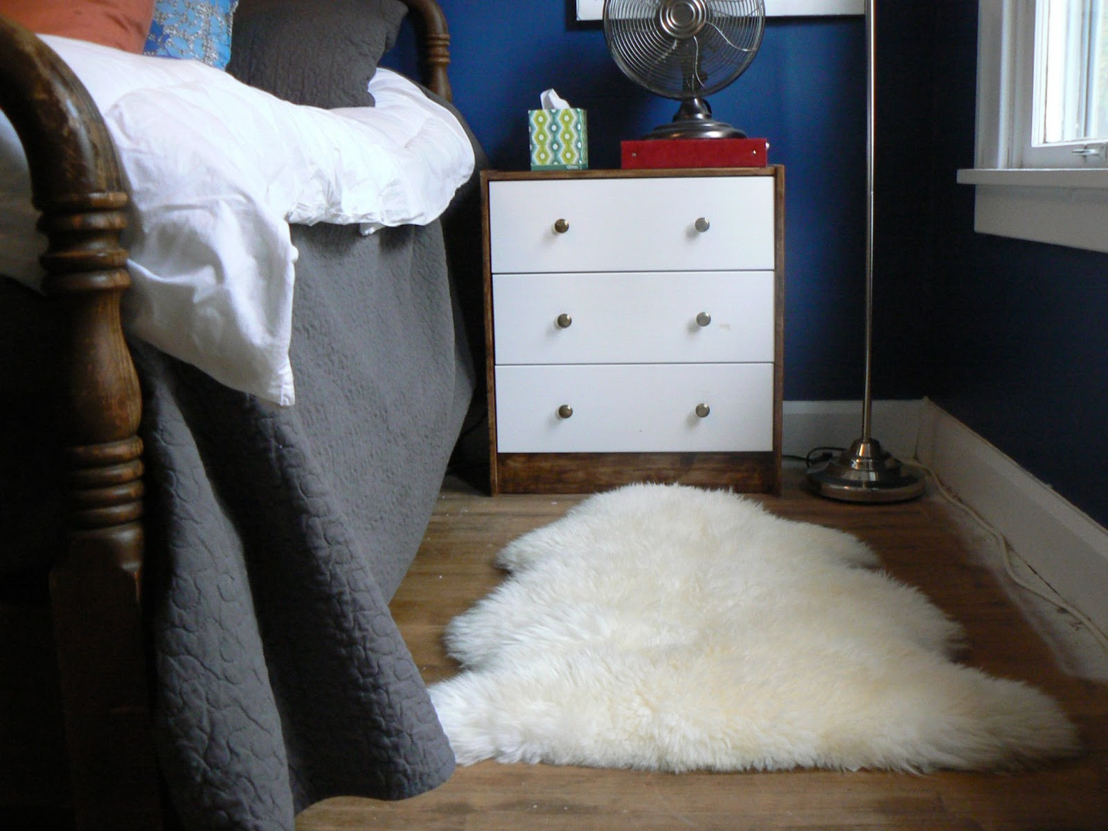 Not Sure Why I Made My Bed Such A Backwards Way, But Anyway, The Sheepskin  Looked Really Nice Until Bob (I Could End Just About Any Sentence That Wayu2026  Until ...