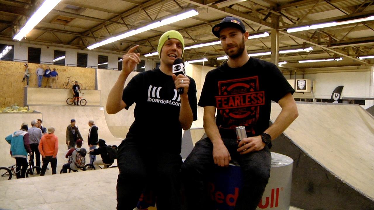 Daniel Wedemeijer stuurde ons een uitnodiging voor de Braaab BMX Jam in het 040 BMX Park