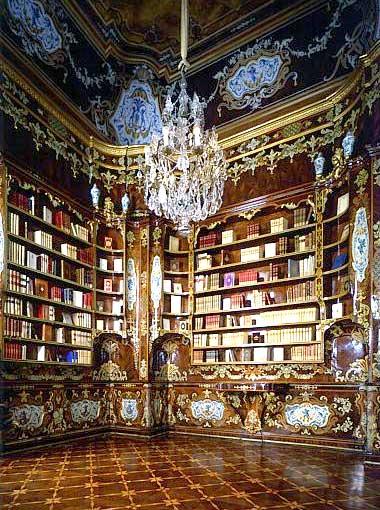 Palazzo del Quirinale Biblioteca del Piffetti