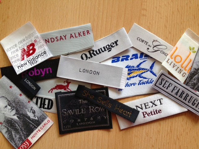 Customized Woven Garment Labels