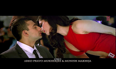 Sunny Leone in Red in Jism 2 Title Video Song