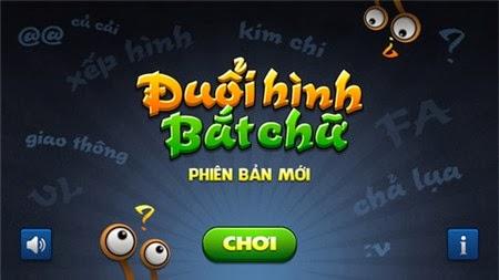 Cùng chơi đuổi hình bắt chữ trên iOS