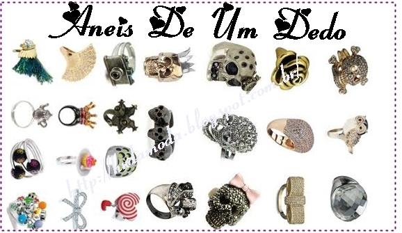 ... um item obrigatório no look do dia-a-dia mais e se não souber usar,  fica muito feio não é  Irei mostrar para vocês anéis, pulseiras, colares e  brincos ... 7c8bf0c6f5