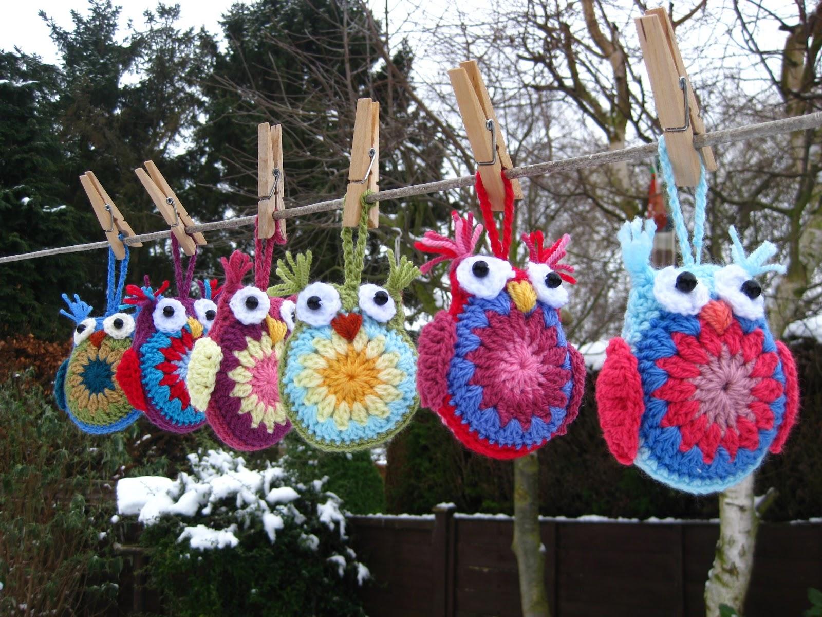 Búho con patrón y tutorial | Claudia Creaciones en Crochet