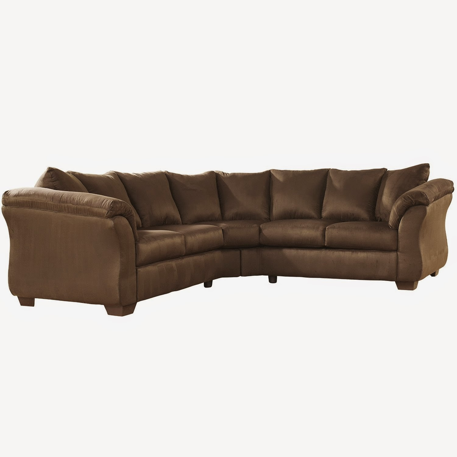 Discount 52 off flash furniture darcy sectional sofa for Cheap sectional couch