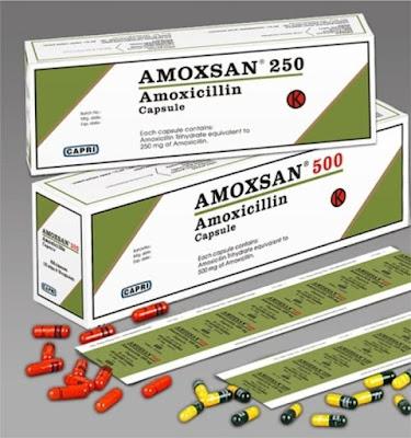 Dosis Obat AMOXSAN / Amoxicillin