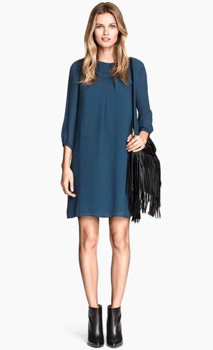 vestidos H&M otoño invierno