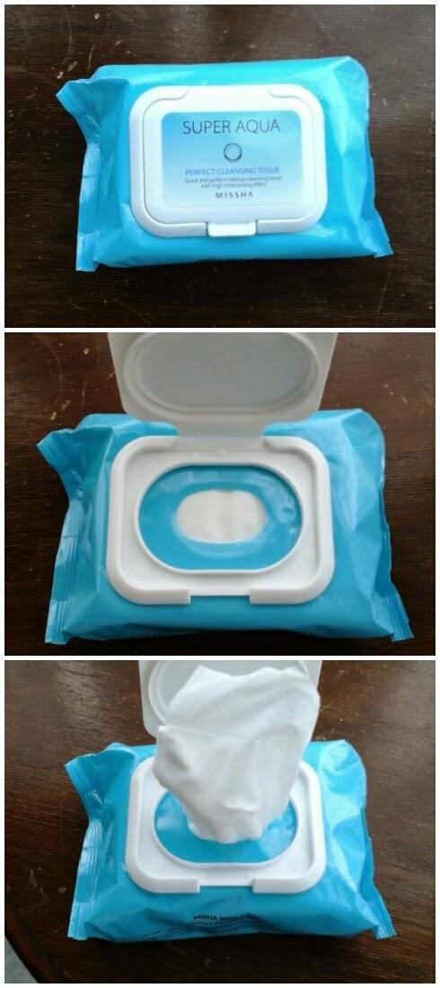 Super Aqua Perfect Cleansing Tissue Missha