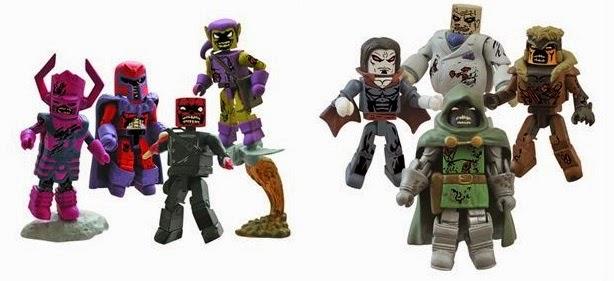 Marvel Minimates Villain Zombies