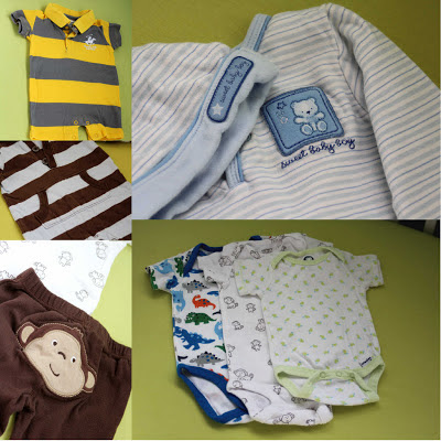Clothes in Baby's Hospital Bag