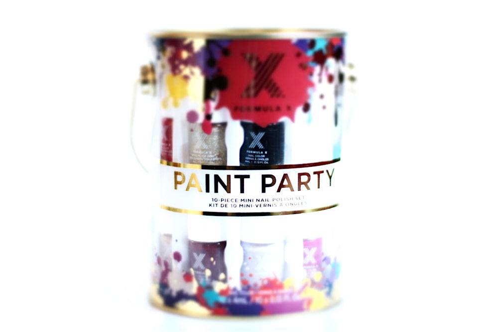 formula x paint party kit vernis noel 2015
