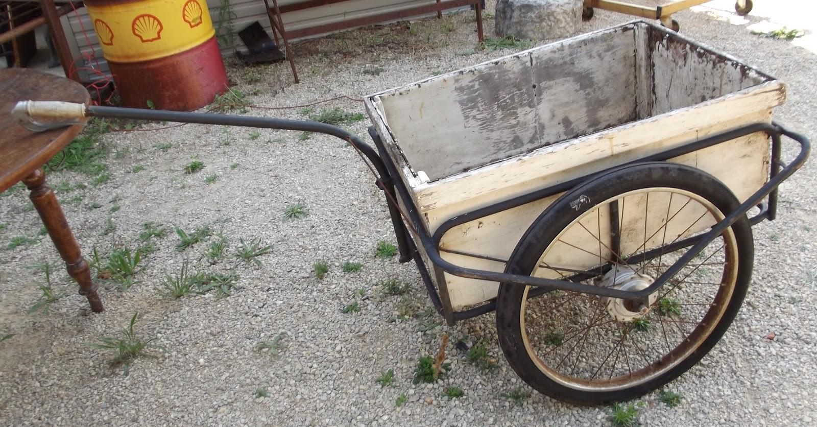 art populaire carriole roue freins tambour v lo solex remorque charrette ancien ebay. Black Bedroom Furniture Sets. Home Design Ideas