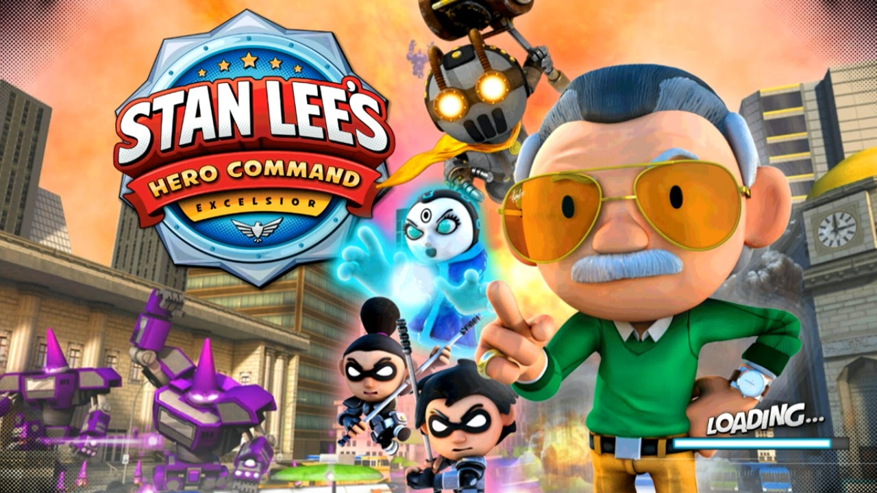 Stan Lee's Hero Command Gameplay IOS / Android