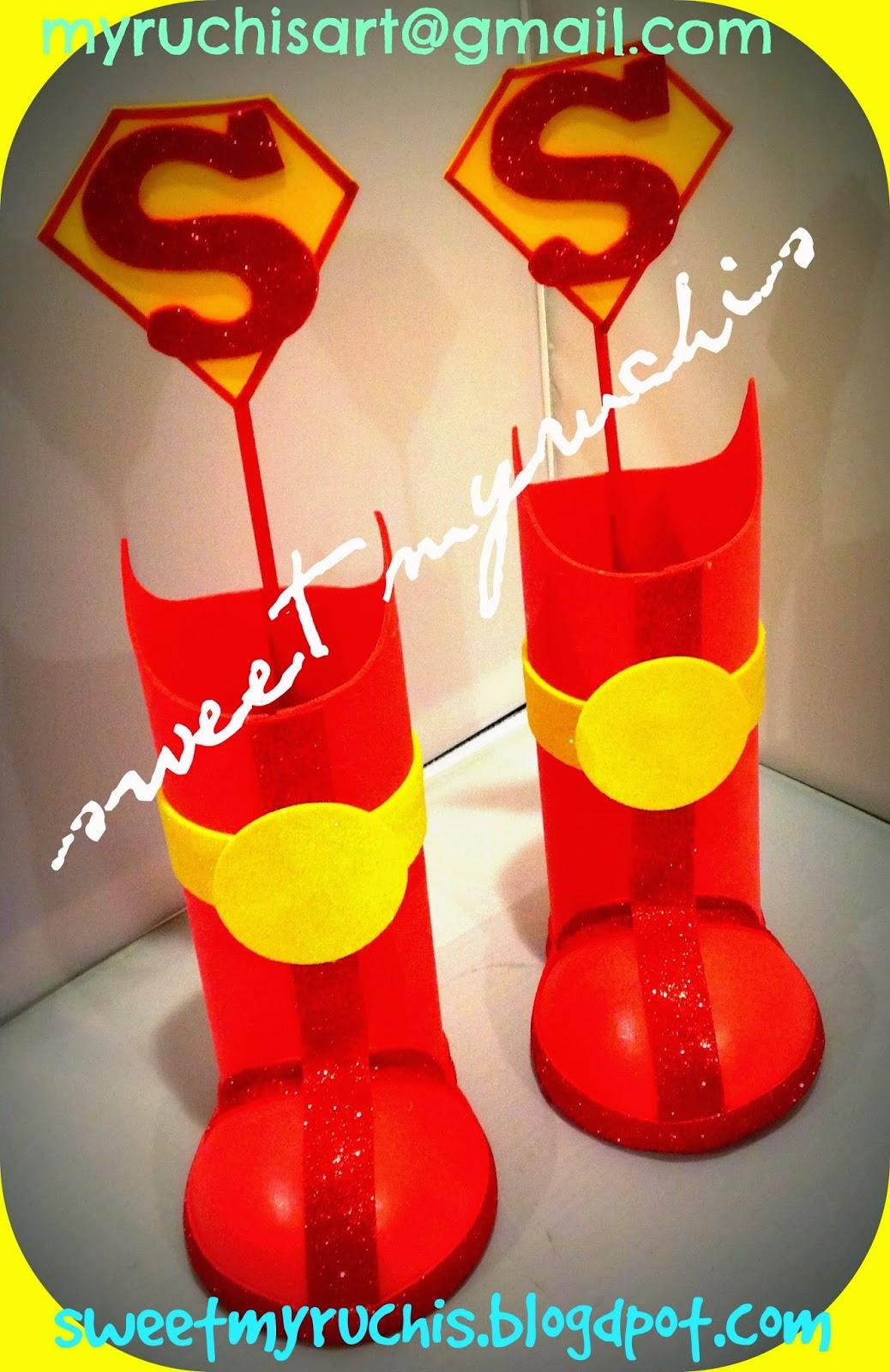 Myruchis: Dulceros Superman.