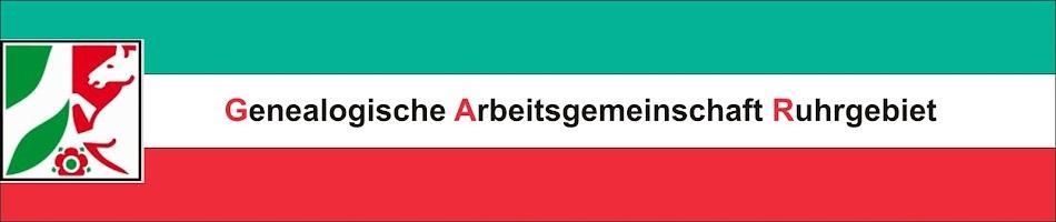 Genealogische Arbeitsgemeinschaft Ruhrgebiet