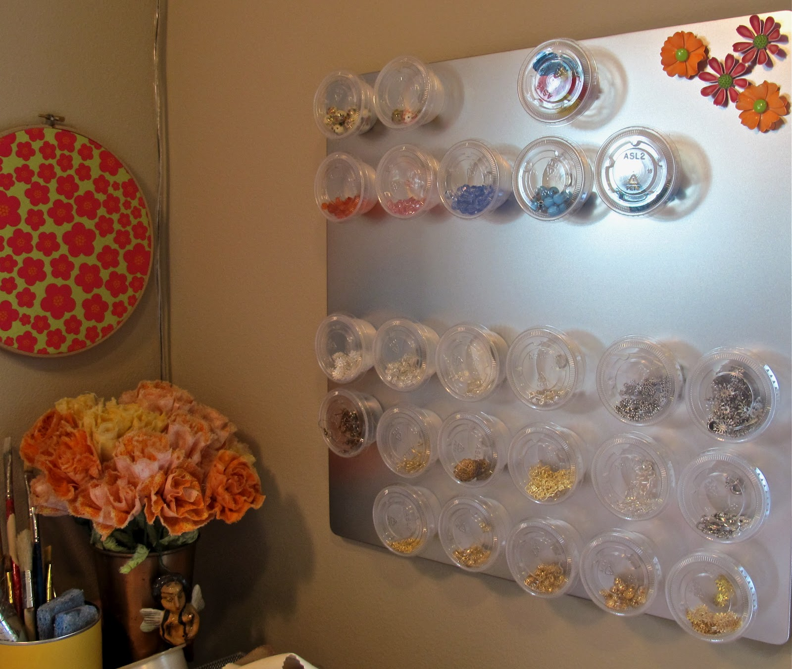 magnetic bead board