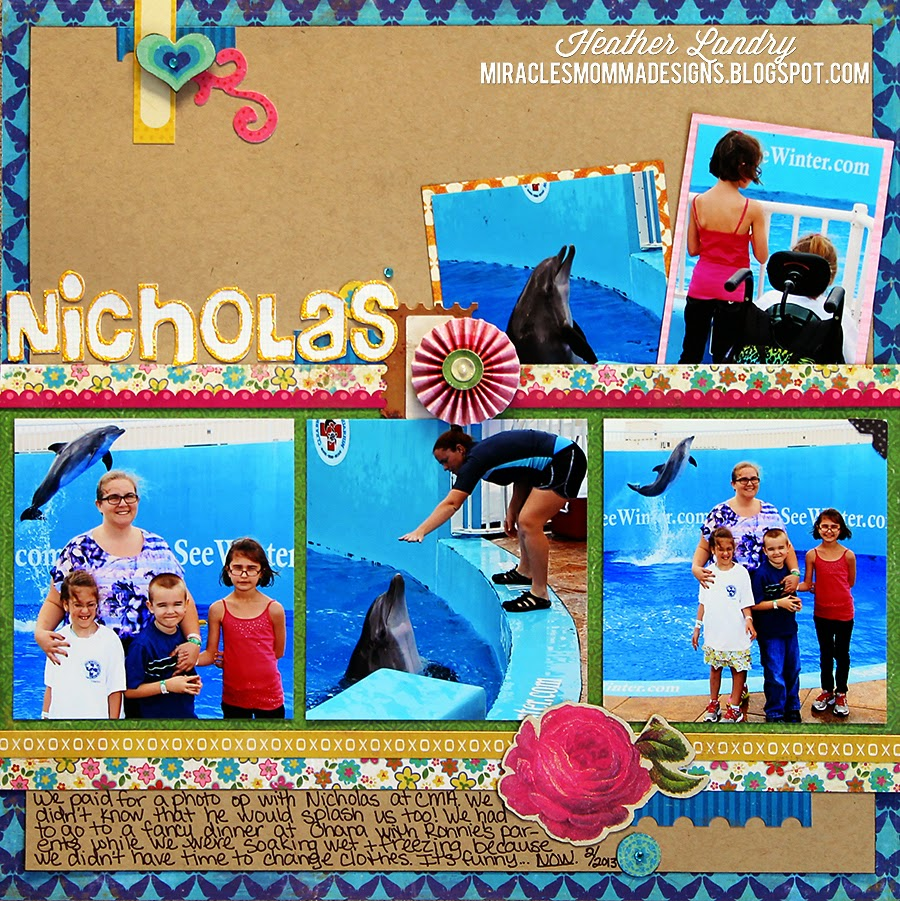 Dolphin Tale_Clearwater_Scrapbook Page