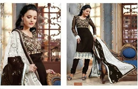 Embroidered Bollywood Suits Collection