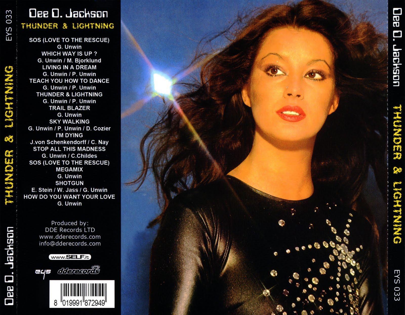Dee D. Jackson - Thunder And Lightning