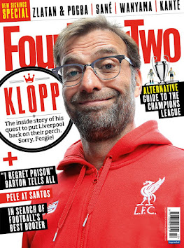 Books in my collection: Four Four Two with an excellent feature on Jurgen Klopp!