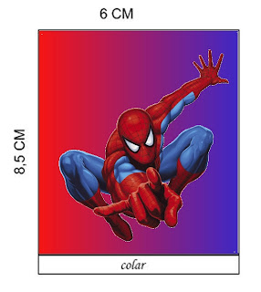 Homem Aranha – Kit Completo – Molduras para Convites, Rótulos de
